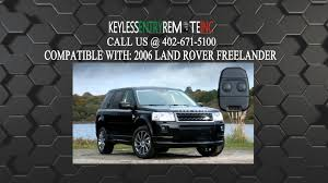 land rover freelander 2006 how to replace land rover freelander key fob battery 2006 youtube