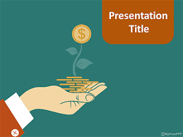 money presentation template free taxation powerpoint template