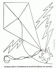 free printable kite coloring pages kids 163315 kite coloring
