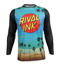 personalized motocross gear premium fit custom sublimated jersey dreamin rival ink design