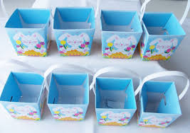 16 birthday bunny baby shower favour boxes birthday easter goody