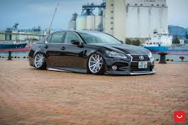 lexus gs vs audi a5 vossen wheels photo gallery
