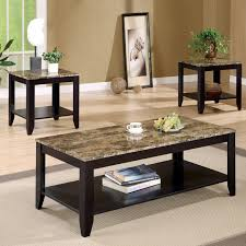 Black Living Room Table Sets 3 Coffee Table Sets Black Home Design And Decorating Ideas
