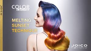 hair color 201 joico color intensity melting sunset tutorial youtube