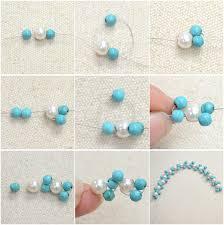 handmade bracelet with beads images Diy easy handmade beading bracelet with turquoise beads and pearl jpg