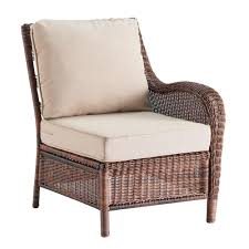 White Wicker Glider Loveseat by Sonoma Goods For Life Presidio Patio Furniture Collection