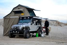jeep roof top tent camping on portsmouth island day 1augie u0027s adventures