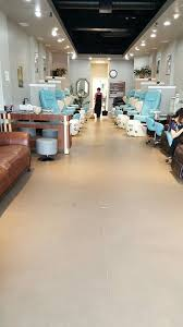 beautiful new nail salon super comfy chairs and a relaxing