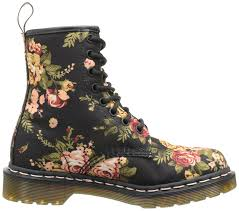 womens pink boots size 11 amazon com dr martens s 1460 re invented print