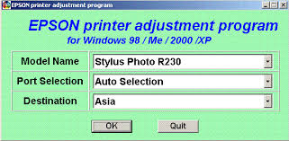 epson r230 waste ink pad resetter free download epson r230 printer blink reset computer knowledge share