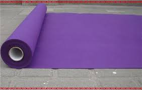 purple aisle runner 2015 new wedding favors purple nonwoven fabric carpet aisle runner