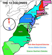 Map Of Us Capitals Thirteen Colonies Wikipedia Thirteen Colonies Wikipedia History