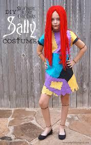 diy nightmare before sally costume artsy fartsy