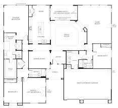 bedroom single level house plans free home design farmhouse