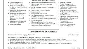 Project Manager Construction Resume Construction Manager Resume Sample Fields Related To Site