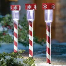 Candy Cane Lights Peppermint Christmas Pathway Lights Christmas Wikii
