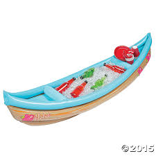 Inflatable Table Top Buffet Cooler Inflatable Luau Canoe Cooler Canoes And Catering Pinterest
