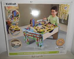 kidkraft train table compatible with thomas kidkraft rapid waterfall train set activity table with storage
