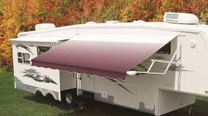 Camper Awnings Replacement Fabric Carefree Ju186a00 Replacement Rv Awning Fabric 18 U0027 Burgundy