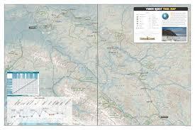 Map Of Yukon Yukon Quest Trail Map Yukon Quest