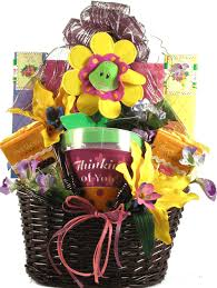 we are thinking of you gift basket by sending our we are thinking