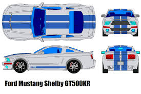 ford mustang shelby gt500 kr by bagera3005 on deviantart