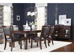 standard furniture dining room leg table with 18 inches leaf all items pictured may not be included in the price please see store for details