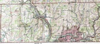 Pennsylvania Cities Map by Lawrence County Pennsylvania Township Map