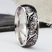 celtic wedding ring celtic wedding bands handcrafted wedding rings