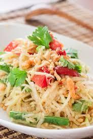 green papaya salad recipe delicious techniques