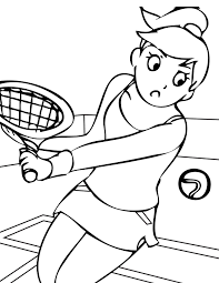 sports u2013 free coloring pages