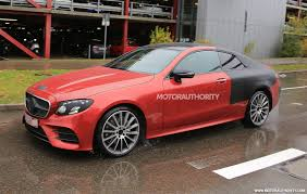 mercedes amg e50 to be performance range topper for new e class coupe