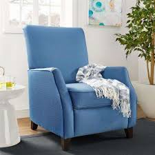 blue recliners chairs the home depot
