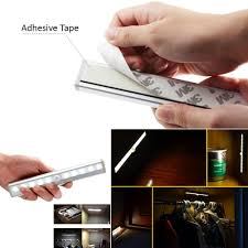Battery Operated Lights For Under Kitchen Cabinets Kitchen Closet Under Cabinet Basement Stick On 10 Led Motion
