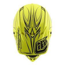 green motocross helmet troy lee designs se4 polyacrylite off road racing motorcycle mx
