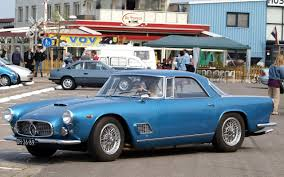 blue maserati old and classic maserati car pictures maserati history and pictures