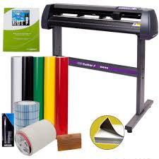 amazon com vinyl cutter uscutter mh 34in bundle sign making kit