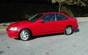 1997 honda civic coupe specs used 1997 honda civic coupe pricing for sale edmunds