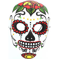 day of the dead adults halloween skeleton masquerade mask