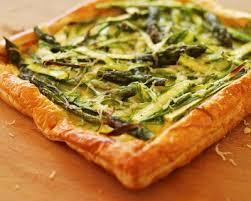 cuisiner asperges vertes fraiches recette tarte aux asperges vertes