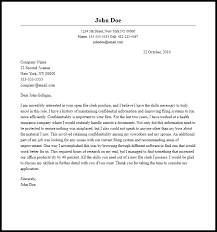 clerk cover letter professional file clerk cover letter sle writing guide