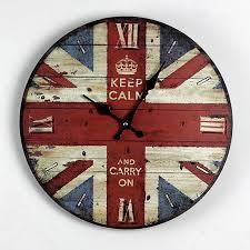 wholesale zakka nostalgia british style british flag wood wall