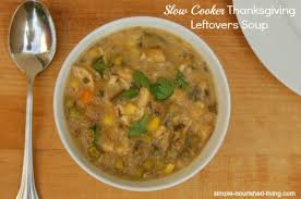 cooker thanksgiving leftovers soup weight watchers recipes