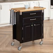home styles 450 prep and serve kitchen cart the mine