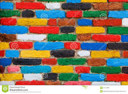 unique backgrounds colorful brick wall unique background stock photo image of block