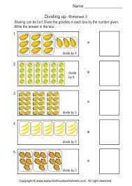 simple division worksheets 3
