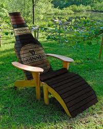 beer bottle chair woodworking plans craft mix pinterest beer