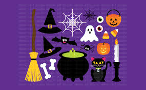 happy halloween clipart happy halloween digital clipart les cl design bundles