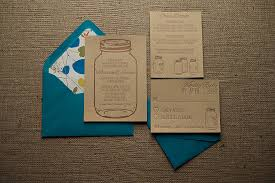 Kraft Paper Wedding Invitations The Madison Suite Is Here For All Of Your Mason Jar Themed Weddings