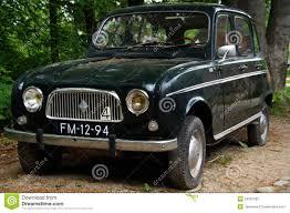 vintage renault cars vintage renault 4 r4 hatchback front view editorial image